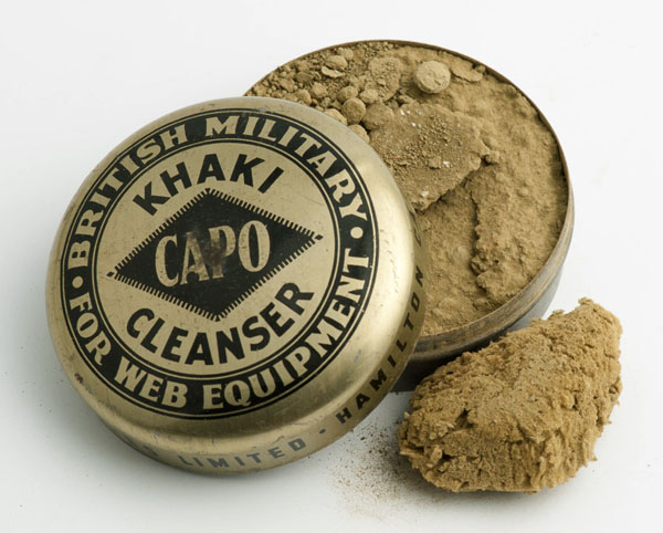 CAPO khaki cleanser