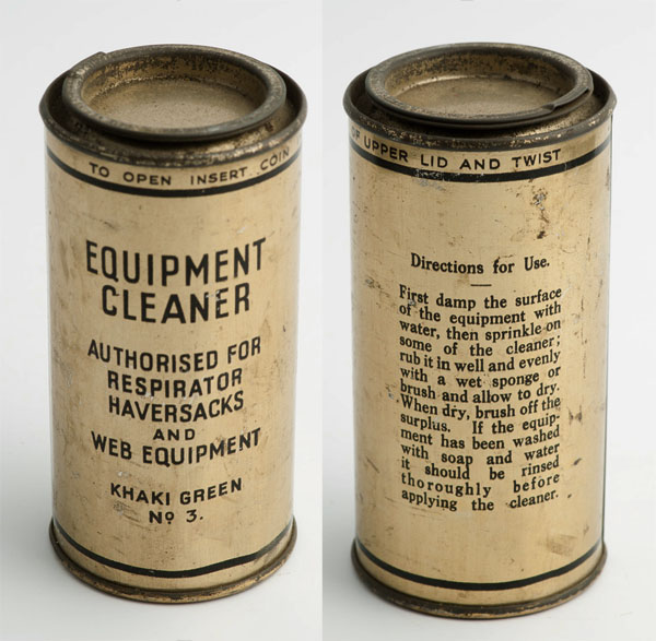 Pickering's equipment cleaner