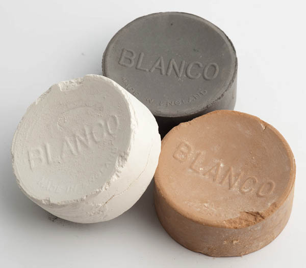 Blanco sunburn, white and grey canvas cleaners