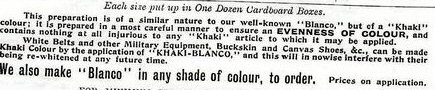 Blanco advert detail