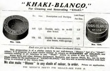 Blanco advert
