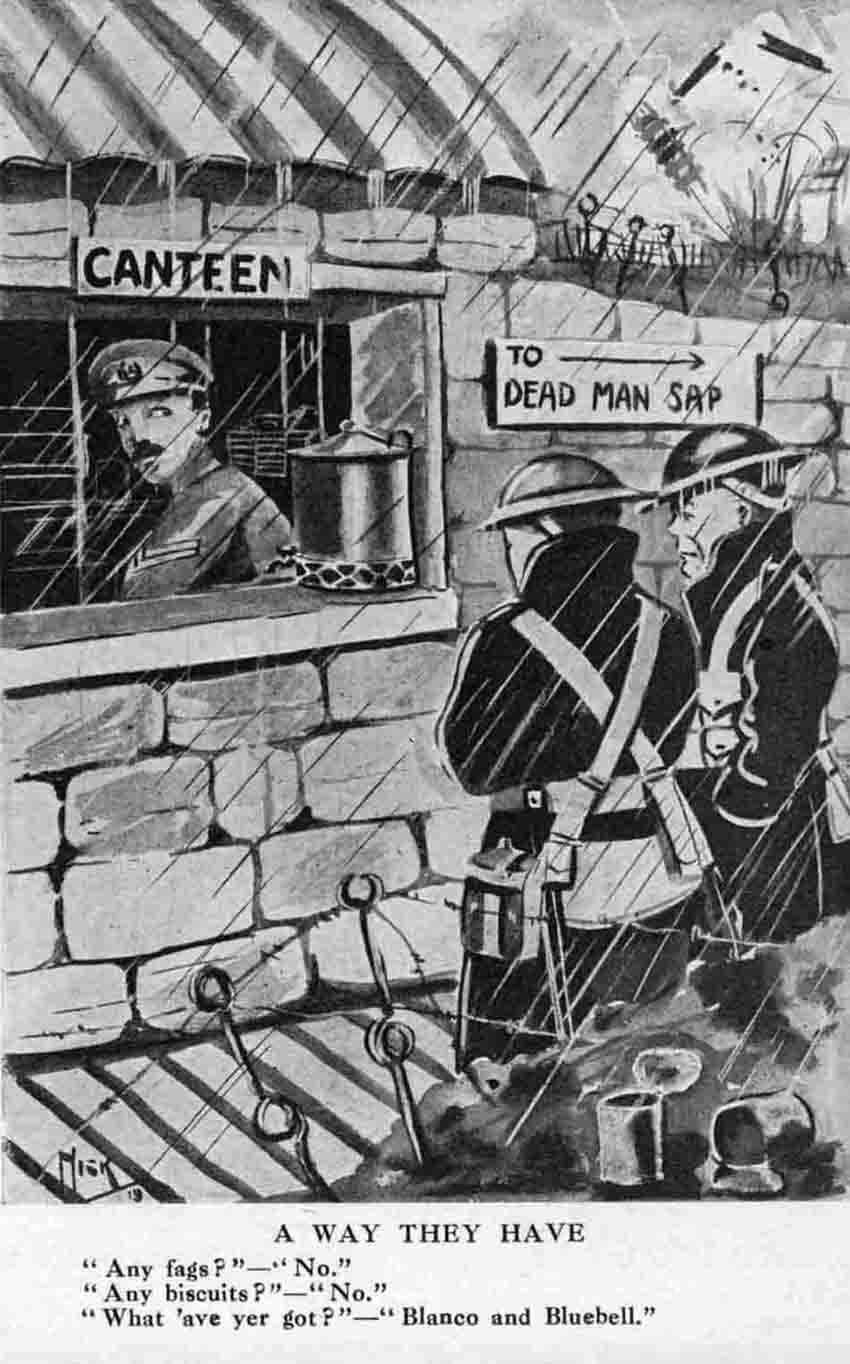 WWI cartoon