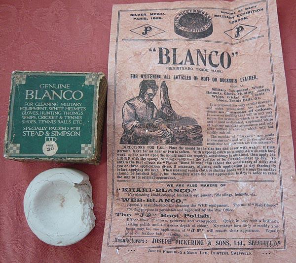 Stead & Simpson Blanco