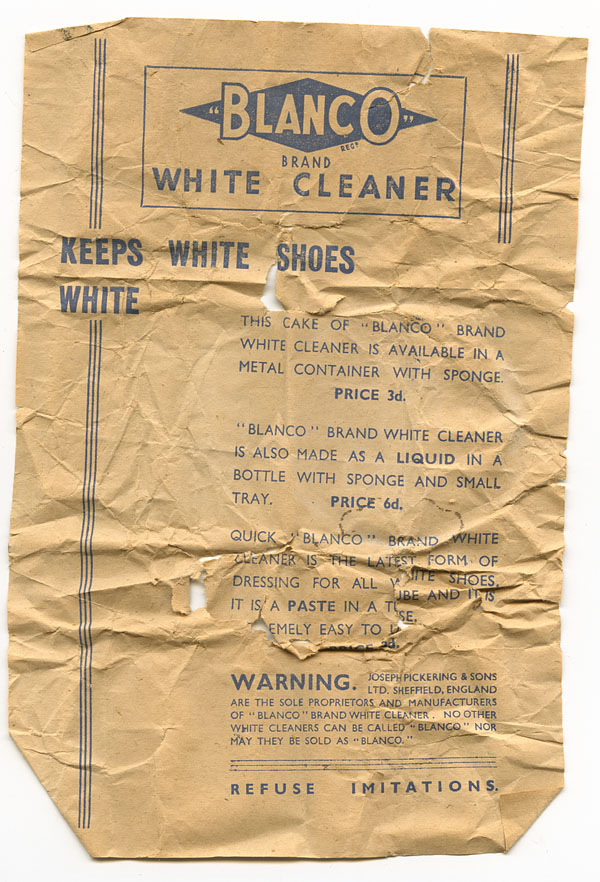white Blanco wrapper