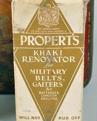 propert's khaki renovator box