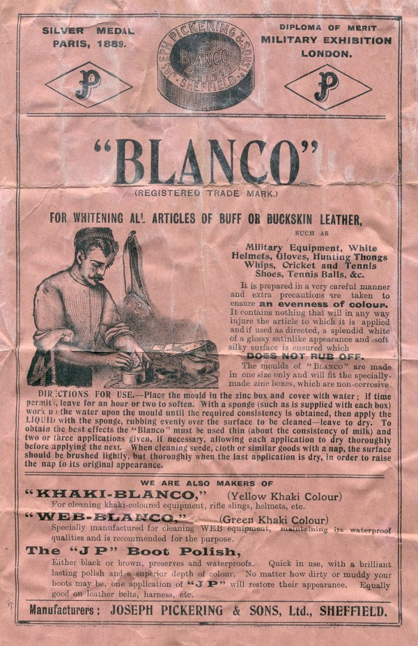 Blanco wrapper