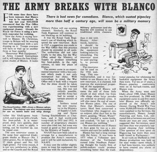 soldier magazine 1954