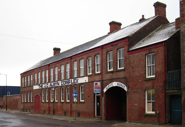 Albyn Works, Sheffield
