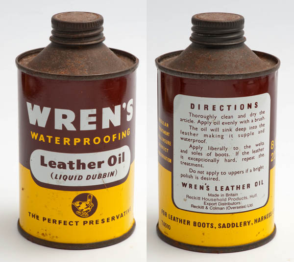 Wren's leather oil