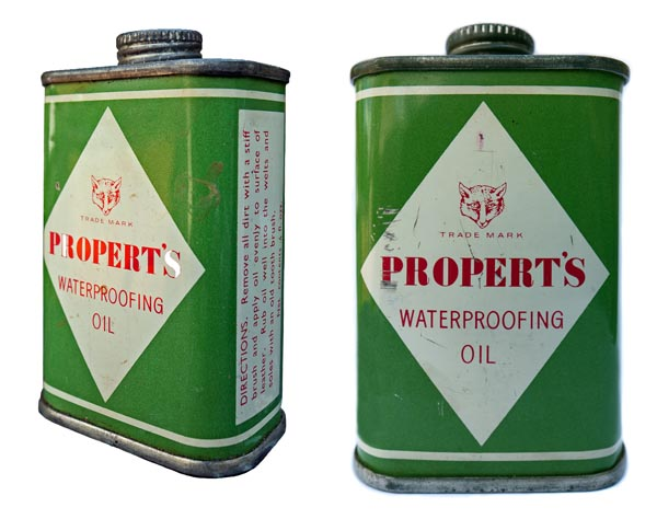 Properts waterproofing oil