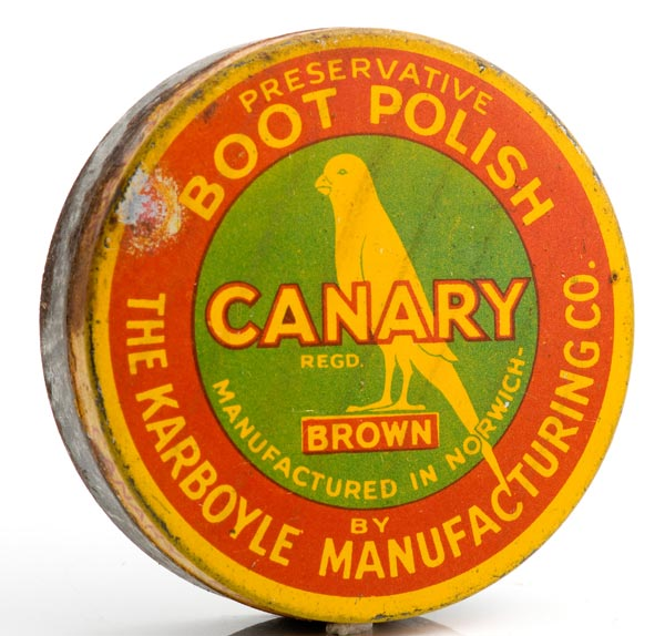 Canary boot polish