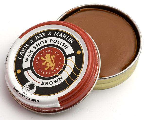 carr day martin brown shoe polish