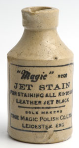 Magic jet stain