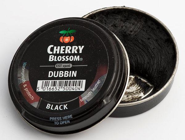 Cherry Blossom black dubbin