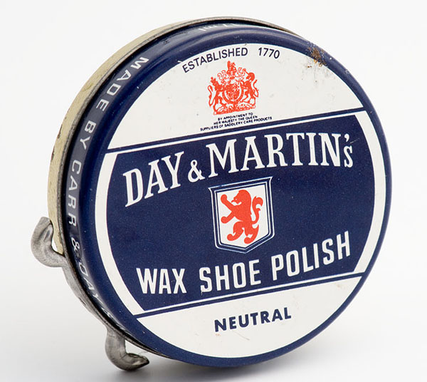 Day & Martin's Neutral wax shoe polish