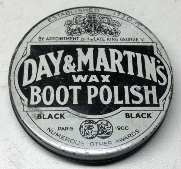 Day & Martin's black boot polish