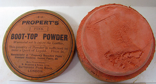 Propert's Boot Top Powder