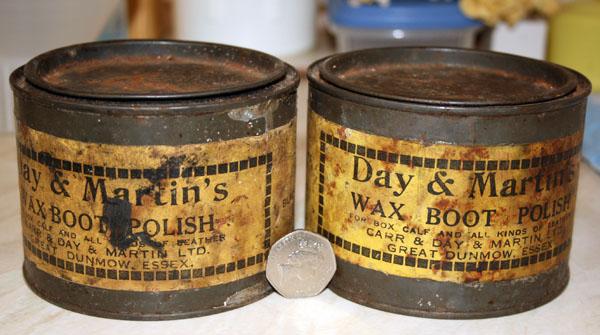 Day and Martin wax polish