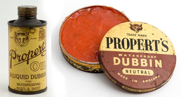 propert's dubbin and dubbin oil