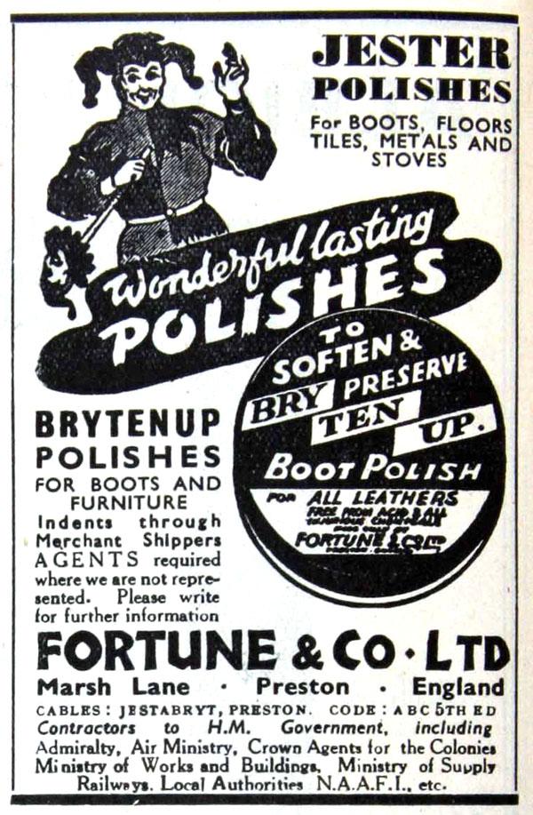 jester fortune ad 1946