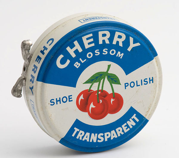 Cherry Blossom transparent shoe polish