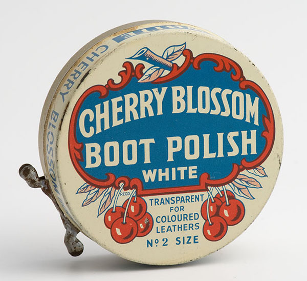Cherry Blossom transparent boot polish