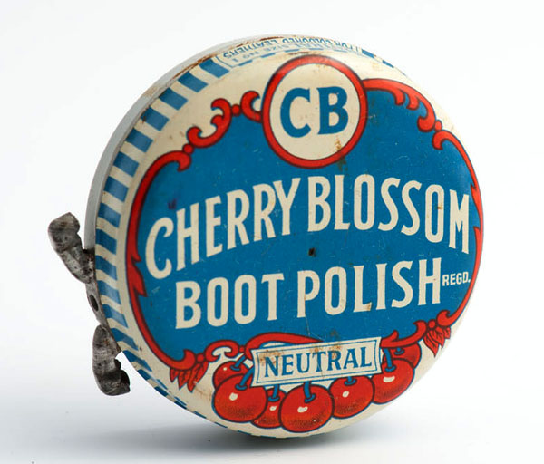 Cherry Blossom boot polish neutral