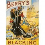 Berrys blacking sign