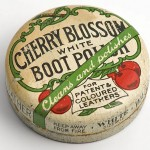 Cherry Blossom boot polish