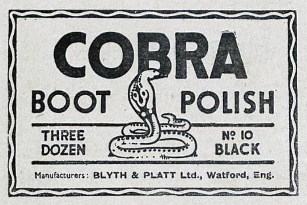 cobra polish advert 1942