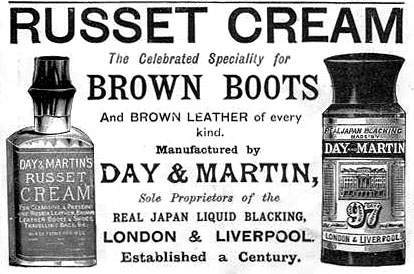Day & Martin 1892 advert