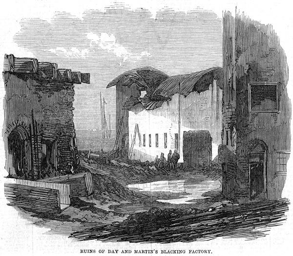 Day & Martin fire 1870