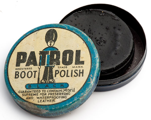 Patrol boot polish