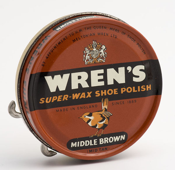 Wren's super-wax shoe polish
