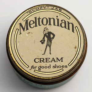 Meltonian cream dumpy jar