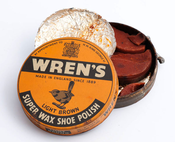 Wren's super wax shoe polish