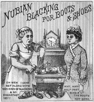 Nubian blacking advert 1879