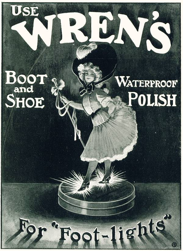 Wren's polish 1908 advert
