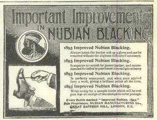 Improved Nubian Blacking 1893