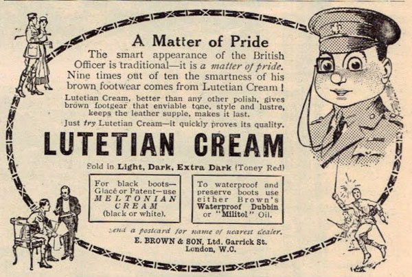 lutetian cream advert