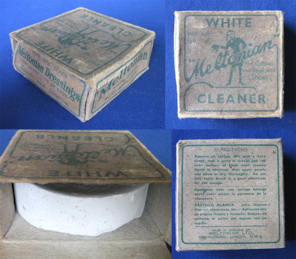 Meltonian white block cleaner