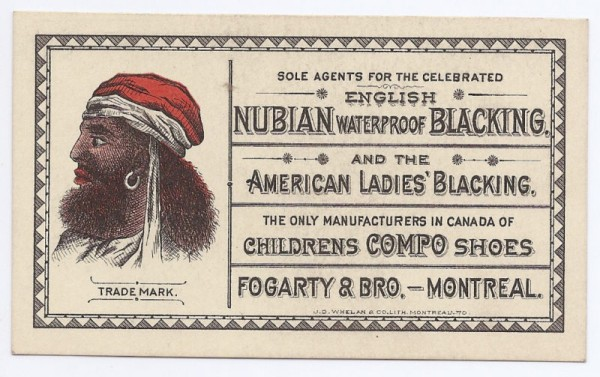 Canadian Nubian trade card