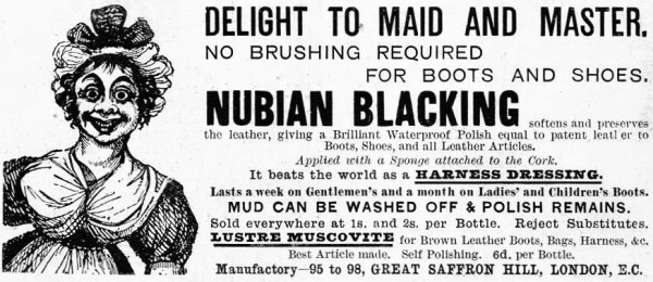 Nubian blacking 1890