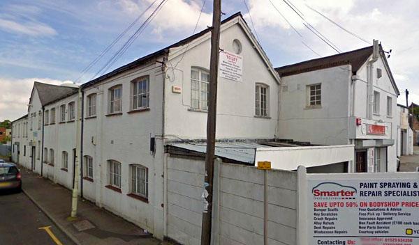 Dales' dubbin works, Tavistock St, Dunstable