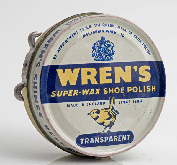 Wren's transparent shoe polish