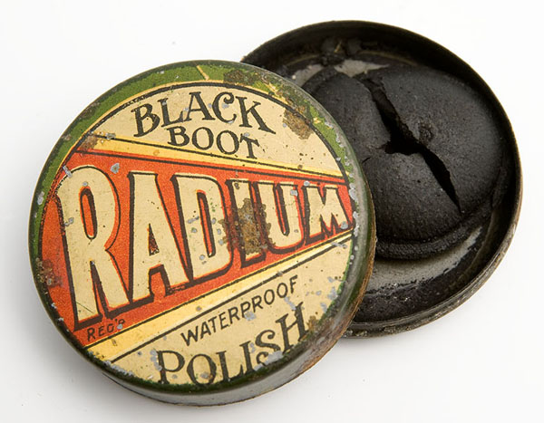 Radium boot polish