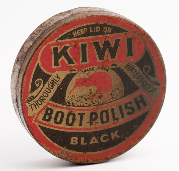 Kiwi black boot polish