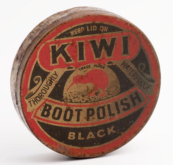 Antique Kiwi Shoe Shine Box by salvageandco on Etsy