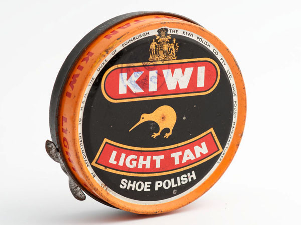 Kiwi Light Tan shoe polish