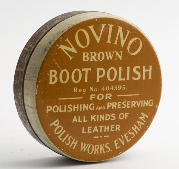 Novino brown boot polish